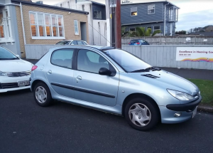 2003 Peugeot 206 XR 1.4 Nz New Auto 5dr H/back Very Low Genuine Km's 54k
