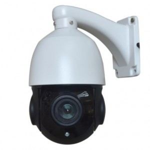 4inch Mini High Speed Wall Mounting PTZ IP Camera with 5-90mm Lens