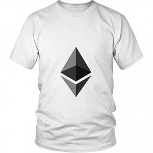 Ethereum T-Shirt - Official Ethereum Logo - Show ETH Cryptocurrency Support