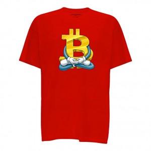 Cointelegraph BitYoga Crypto T-Shirt Unisex   Cryptocurrency Blockchain