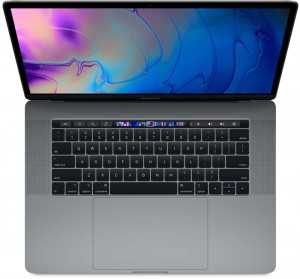 "Apple MacBook Pro 15"" Touch 2.6GHz 6C i7 256GB - Space Grey"