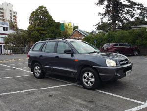 2005 HYUNDAI SANTA FE, AWD, 4X4 NZ NEW