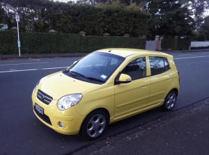 2008 Kia Picanto, New Shape Facelift Model 5dr H/Back Auto NZ New Low Km