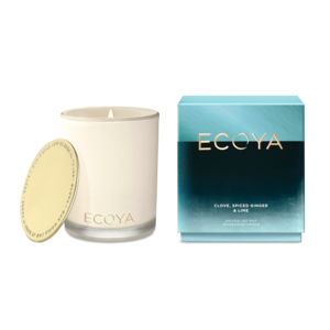 Ecoya Clove, Spiced Ginger & Lime Madison Candle