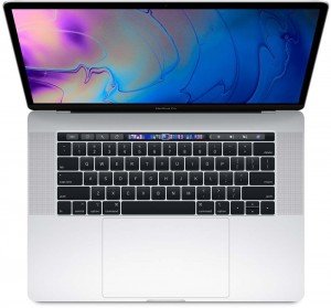 """Apple MacBook Pro 15"""" Touch 2.3GHz 8C i9 512GB - Silver"""